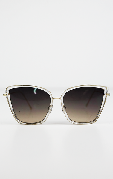 Undercover Doll Sunglasses - Clear
