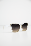 Undercover Doll Sunglasses - Clear - Haute & Rebellious
