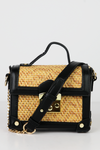 All of Sudden Basket Cross-body Bag - Black - Haute & Rebellious