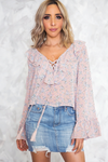 In Bloom Ruffle Blouse - Haute & Rebellious
