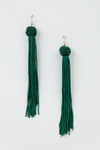 YOU COULD BE TASSEL EARRINGS - GREEN - Haute & Rebellious