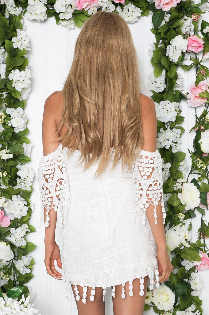 Narah Crochet Shift Dress