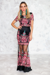 Fiesta Embroidery Set - Black - Haute & Rebellious