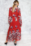 Unforgettable Floral Wrap Maxi Dress - Haute & Rebellious
