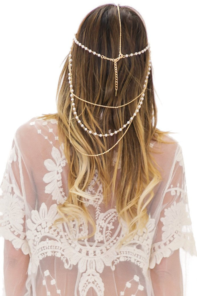 LE PEARLA HEADPIECE - Haute & Rebellious