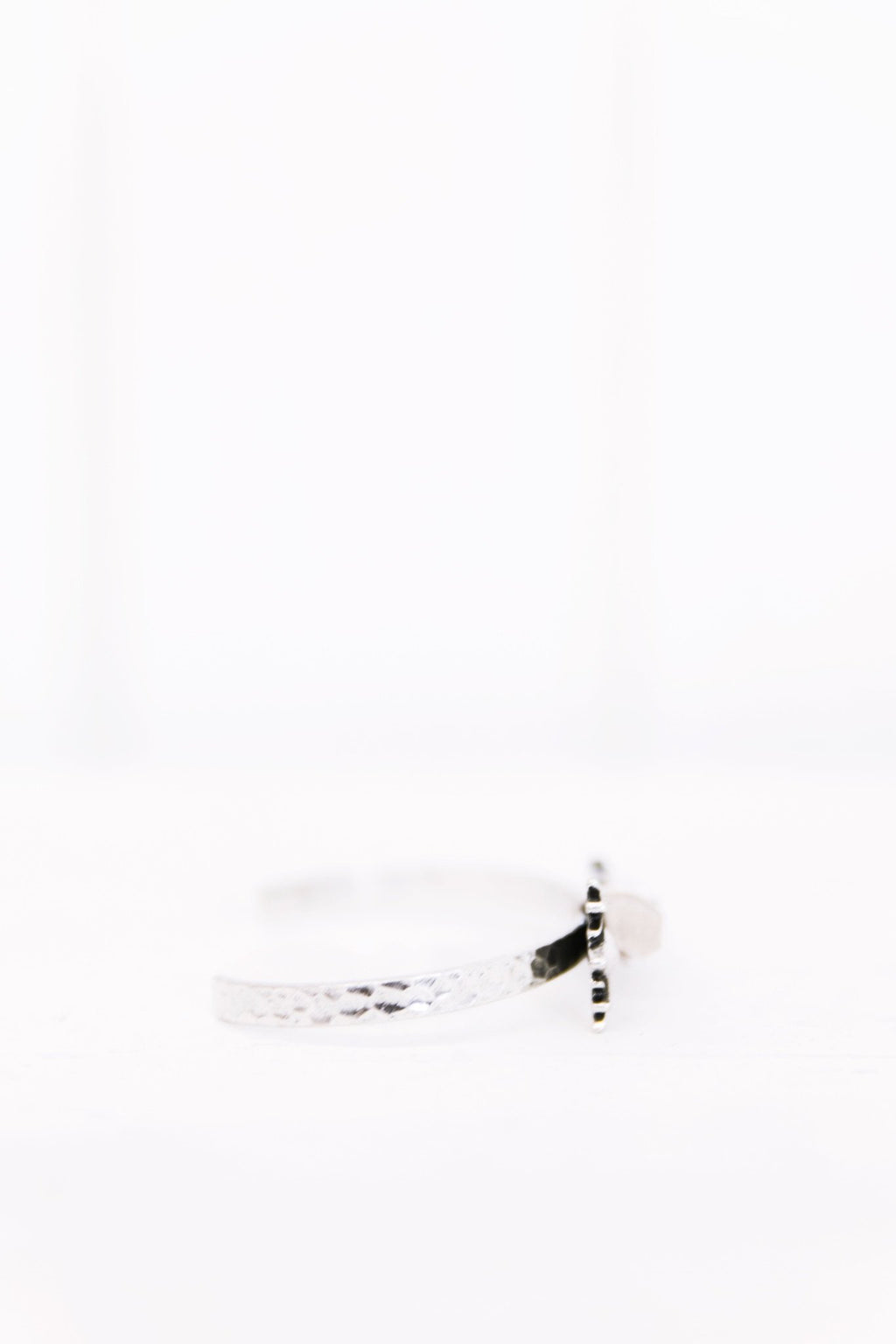 Arrow Crystal Cuff - Silver - Haute & Rebellious