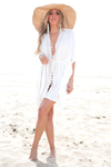 Hearts Desire Crochet Trim Coverup - Haute & Rebellious