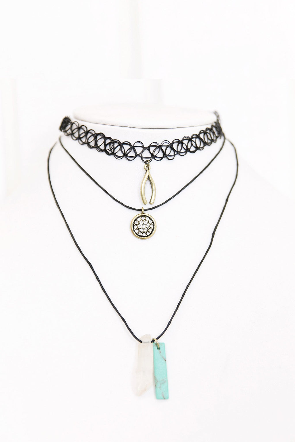 Kailey Choker Necklace - Haute & Rebellious