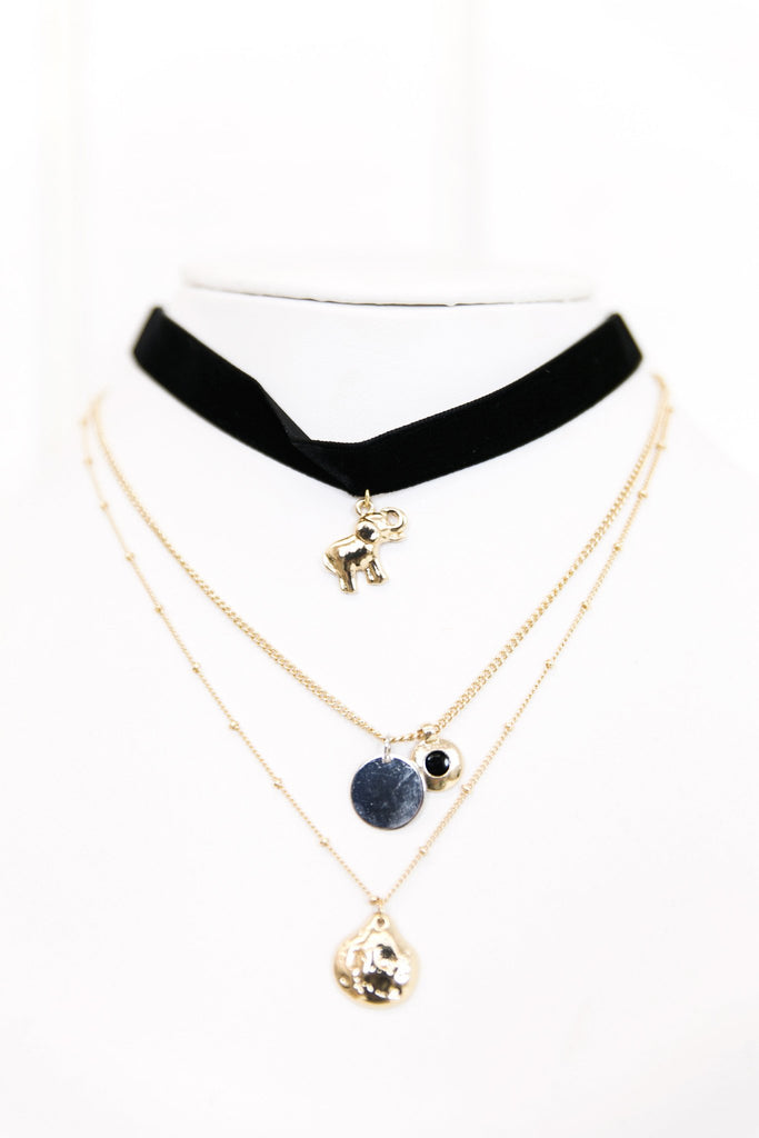 Choker Layered Necklace