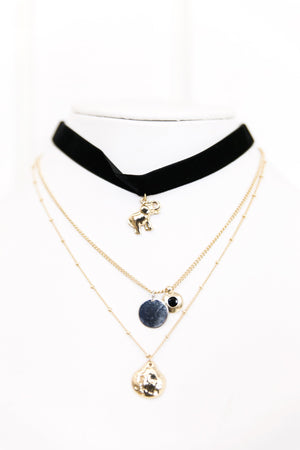 Choker Layered Necklace - Haute & Rebellious