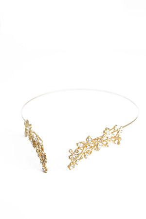 Jiah Gold Head Piece - Haute & Rebellious