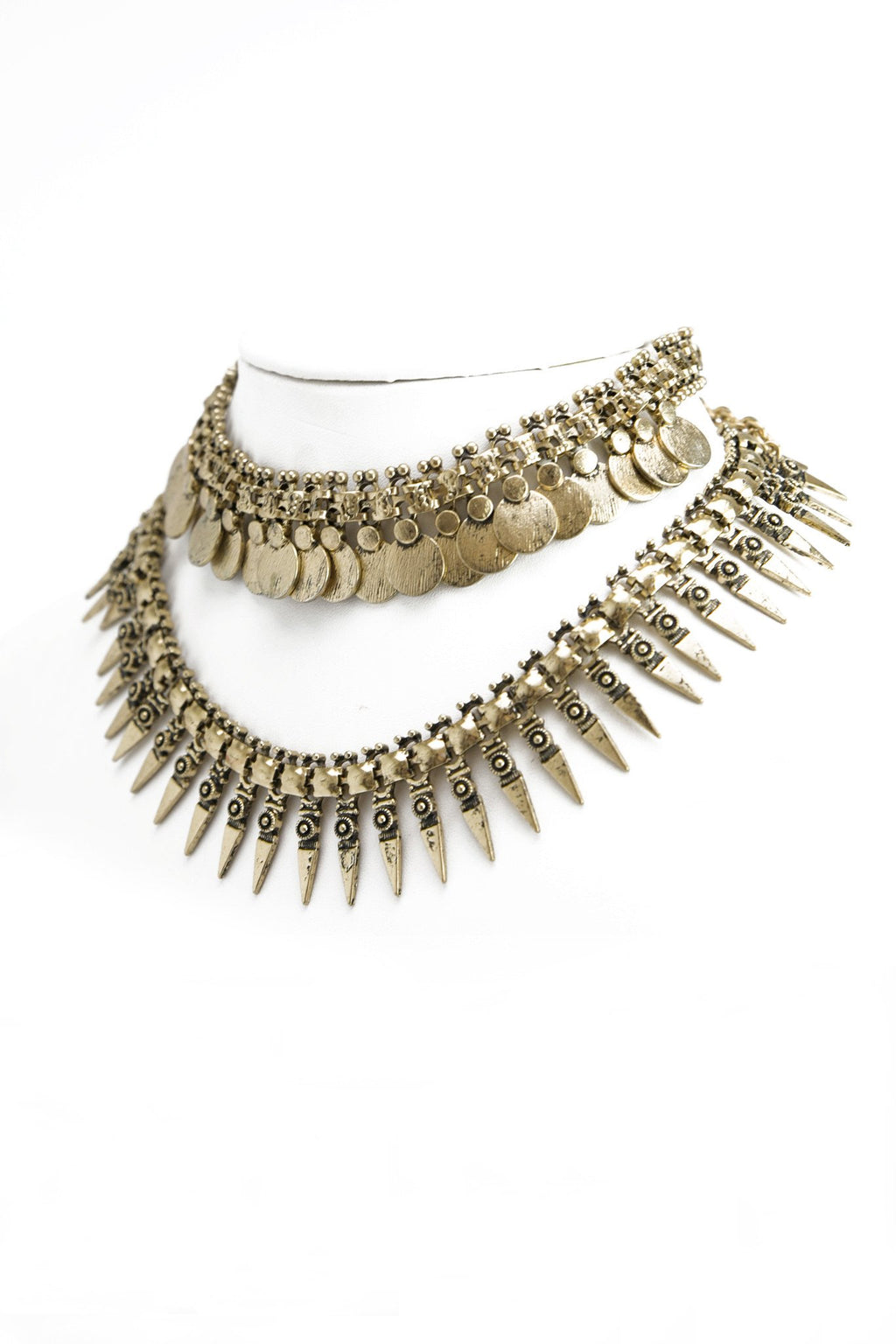 Gina Layered Necklace - Haute & Rebellious