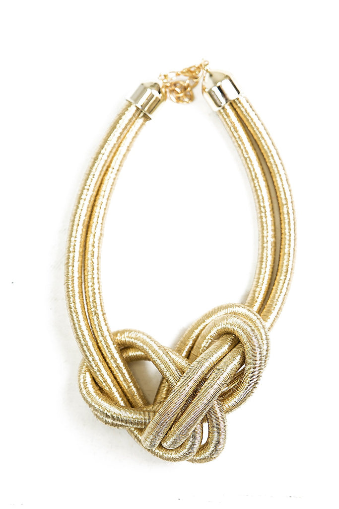 Vina Double Knot Necklace