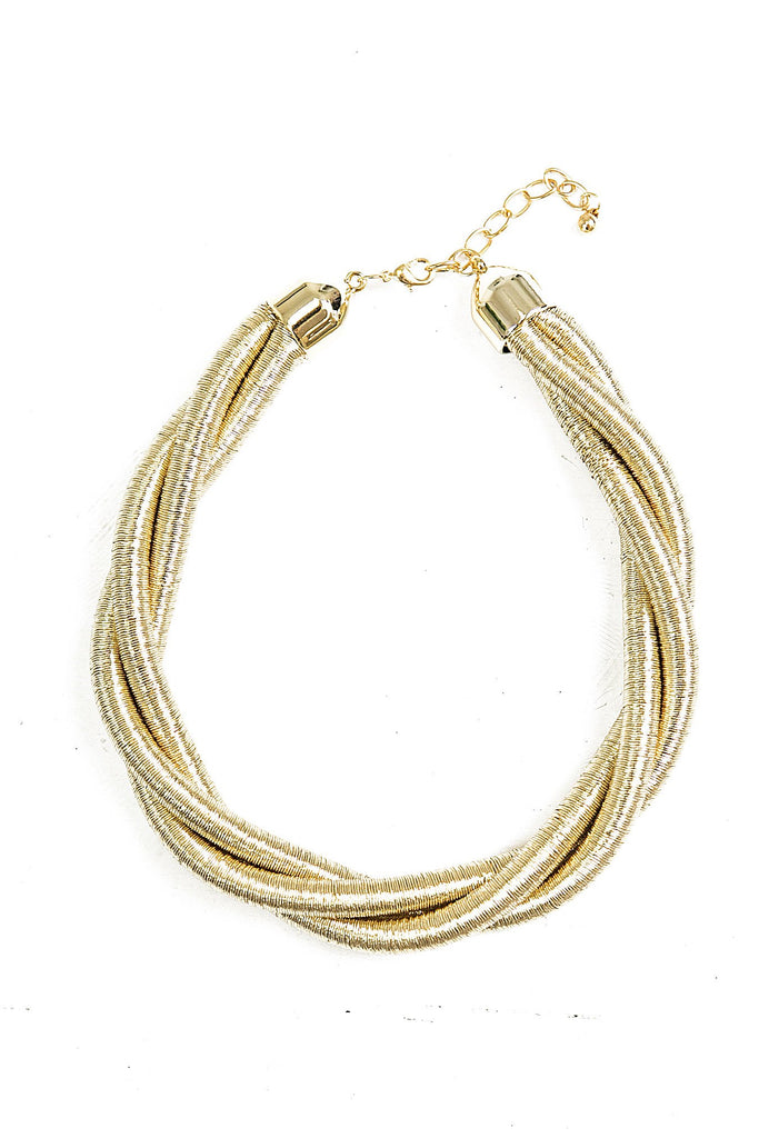 Leena Twisted Necklace