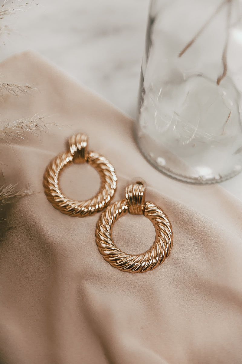 Mimi Earrings - Gold