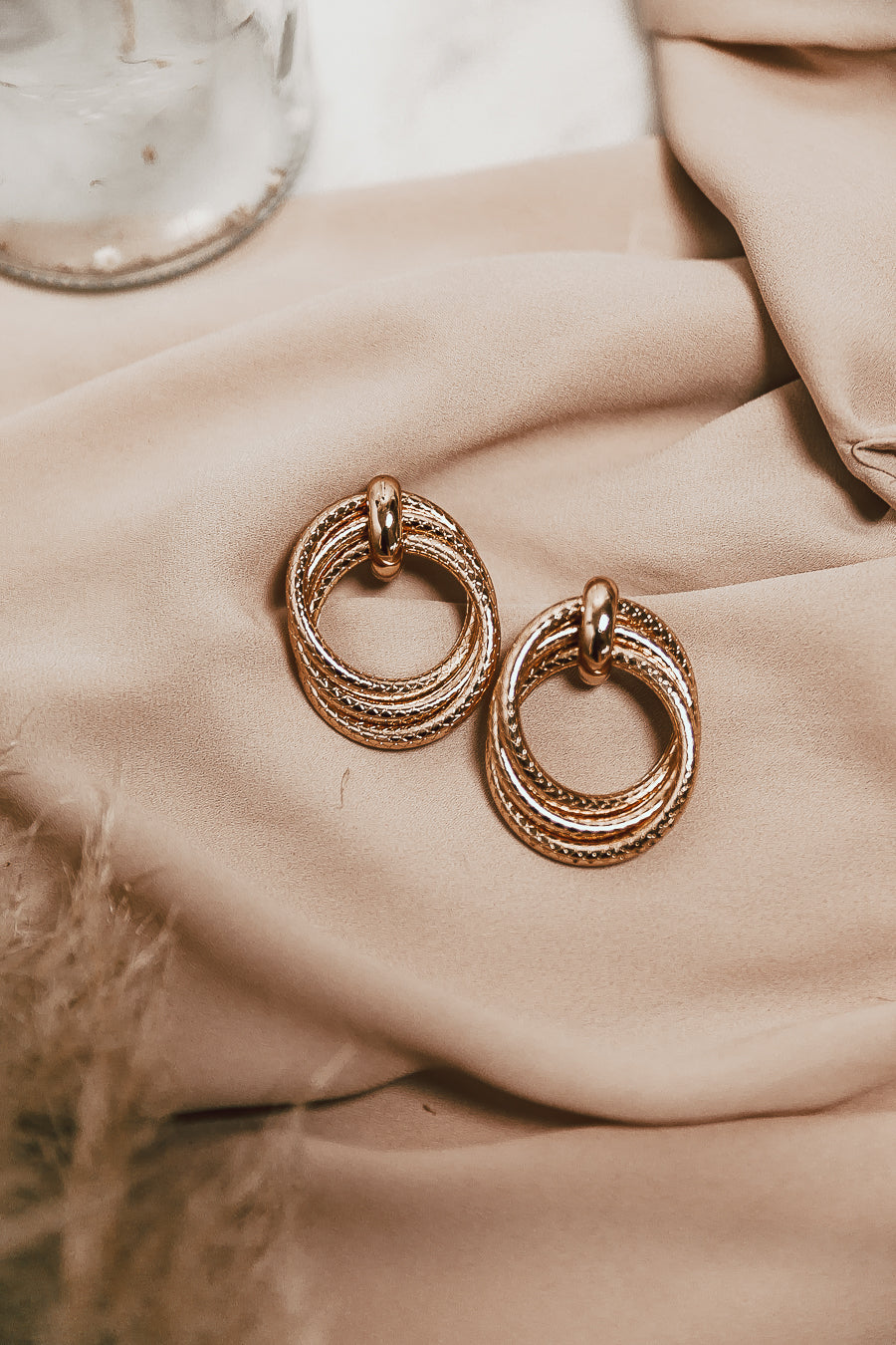 Santie Earrings - Gold