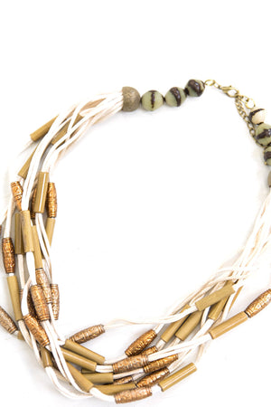 Elsa Beaded Necklace - Haute & Rebellious