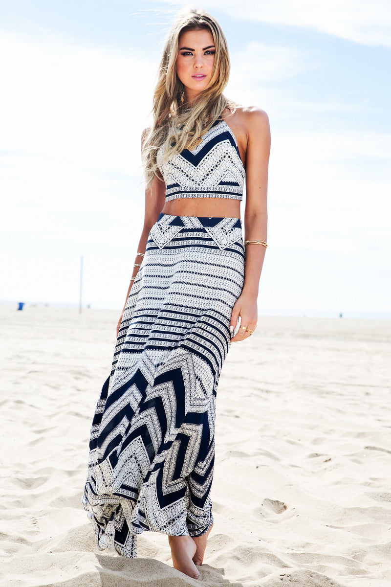 Malana Tribal Maxi Skirt /// Only 1-S Left /// - Haute & Rebellious