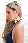 Dying For You Earrings - Gold - Haute & Rebellious