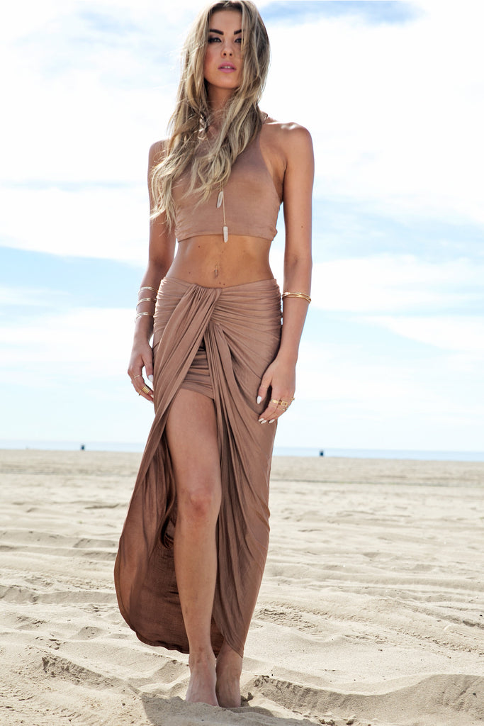 Rashana Two-Piece Set - Tan