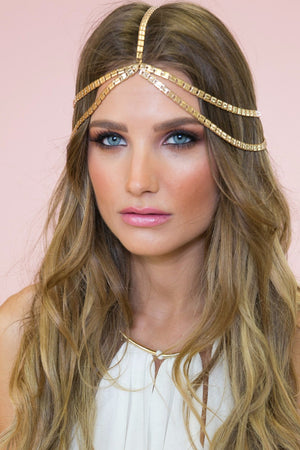 Bohem Goddess Metal Headband - Haute & Rebellious