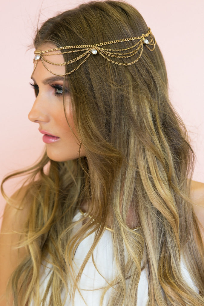 Mystic Goddess Metal Headband