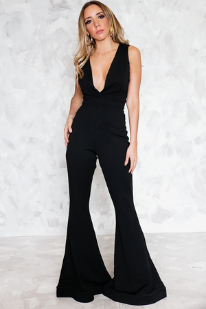 Bell Bottom Jumpsuit