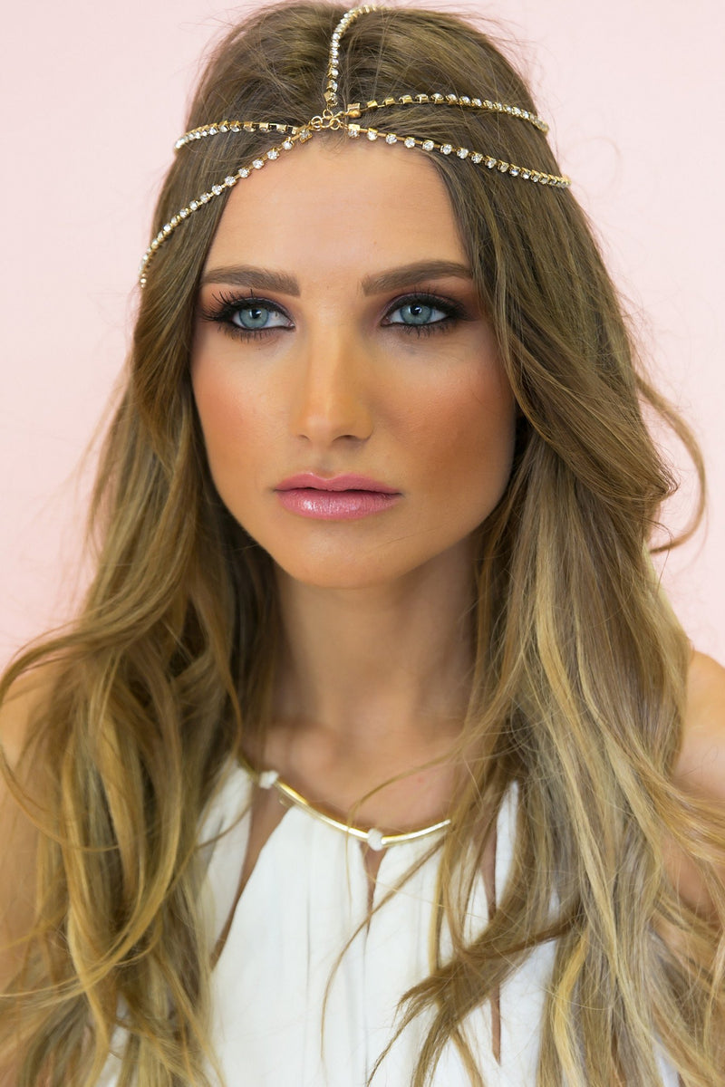 Myhani Goddess Metal Headband - Haute & Rebellious