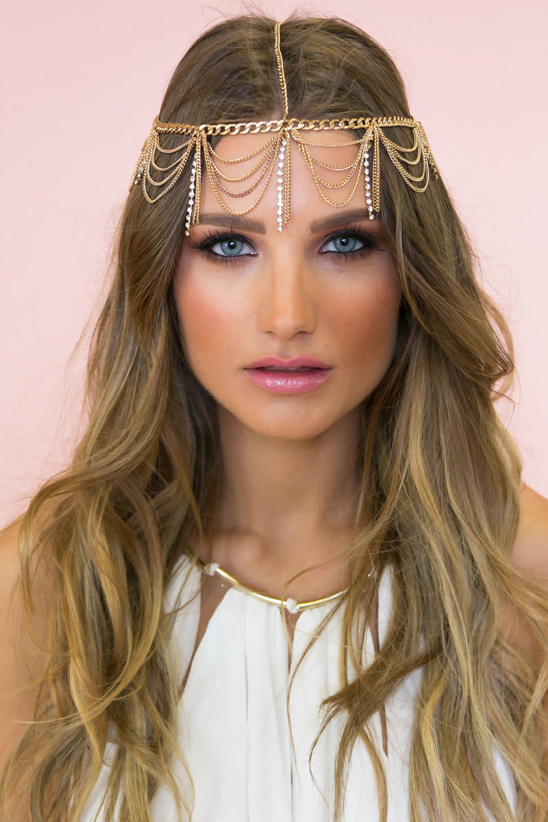 Queen Nefertiti Metal Headband - Haute & Rebellious