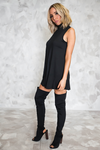 Everyday High Neck Sleeveless Dress - Haute & Rebellious