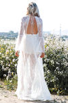 Endless Love Bell Sleeve Maxi - White - Haute & Rebellious