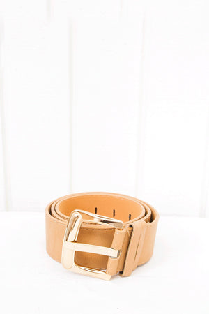 Jayka Leather Belt - Brown - Haute & Rebellious