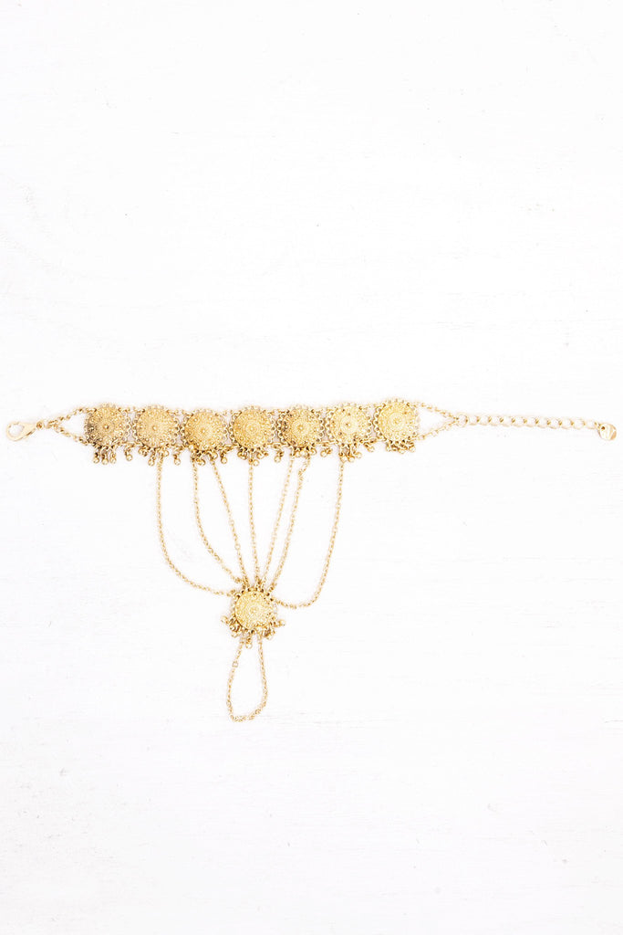 Malayalam Metal Chain Anklet - Haute & Rebellious