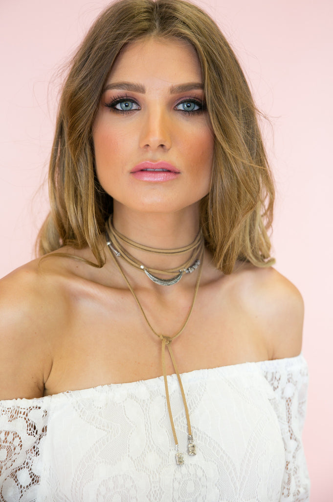 Saint Rope Choker - Tan