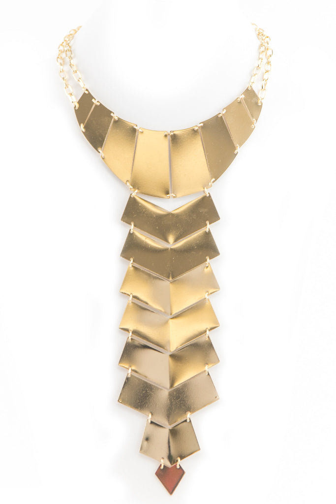 KING JANTU PLATED NECKLACE