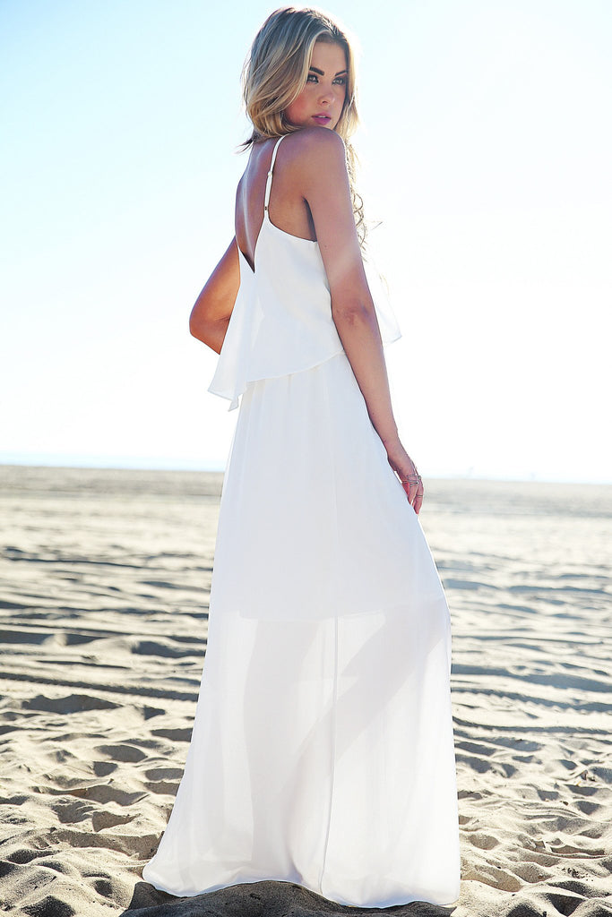 Leylaha Maxi Dress - White