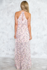 Ruffle Wrap Floral Maxi Dress - Haute & Rebellious