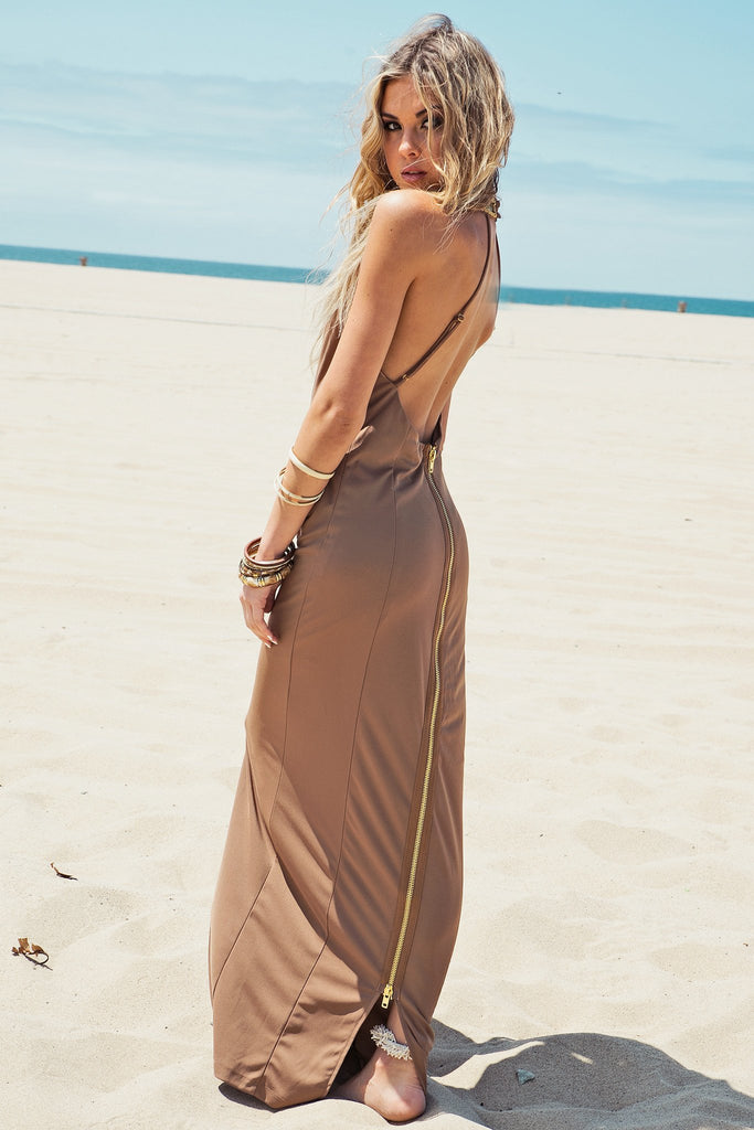 Ever Beaded Maxi Dress