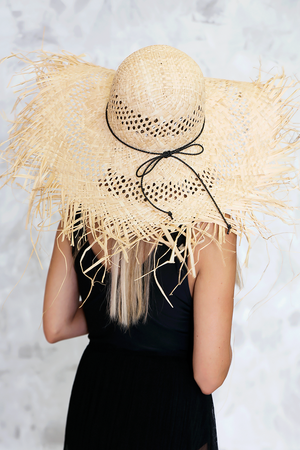 Fray Straw Hat - Haute & Rebellious