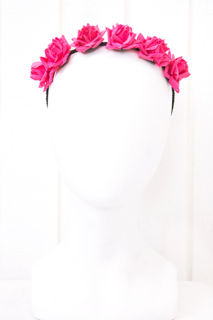 Small Pointy Rose Headband