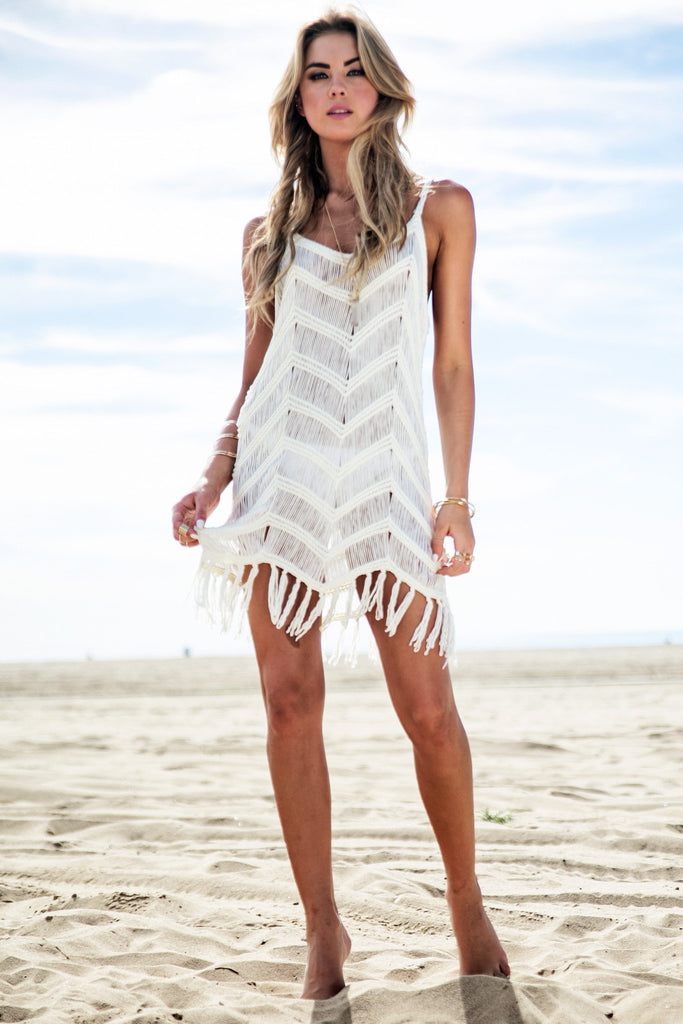 Lana Cochet Fringe Dress - Haute & Rebellious