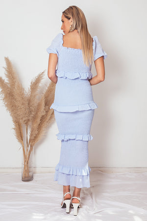 Tiered Ruffle Maxi Dress