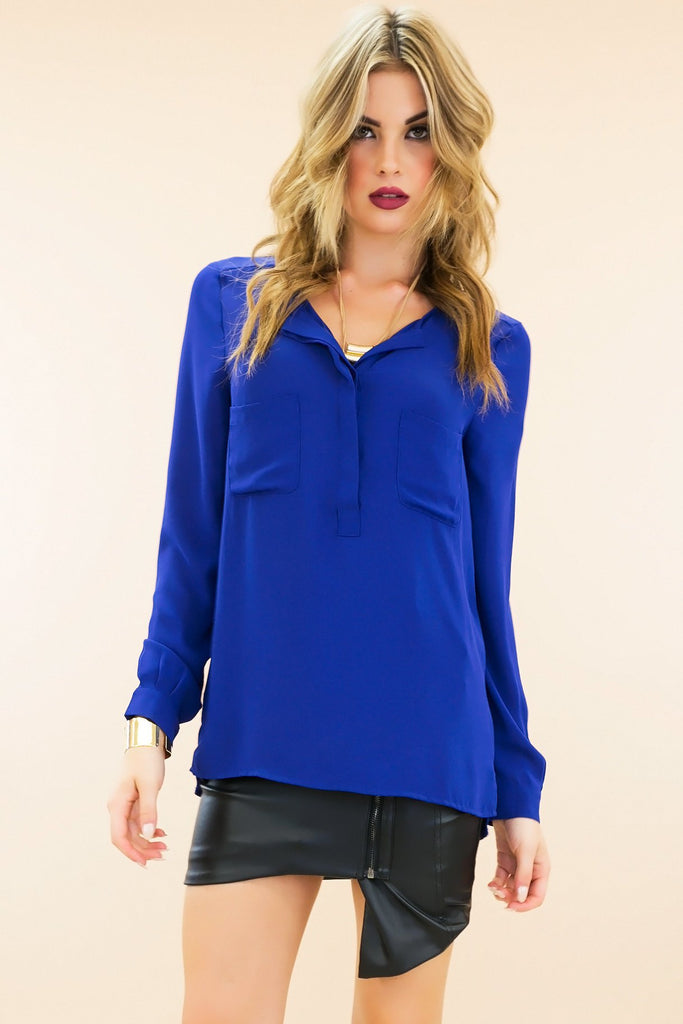 Ettro Sheer Dressy Blouse - Blue