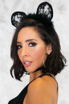 Minny Temptations Lace Mouse Ears - Haute & Rebellious
