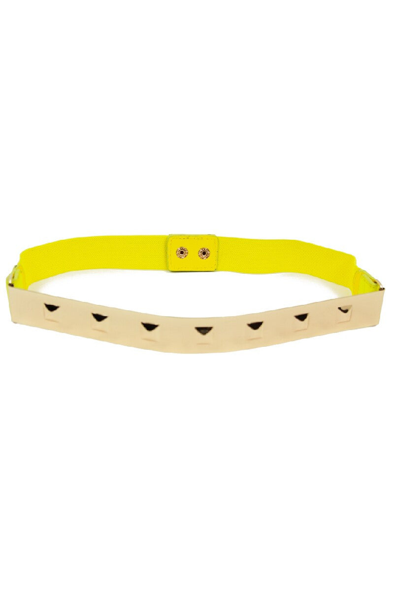 THIN GOLD PLATED BELT - Yellow - Haute & Rebellious