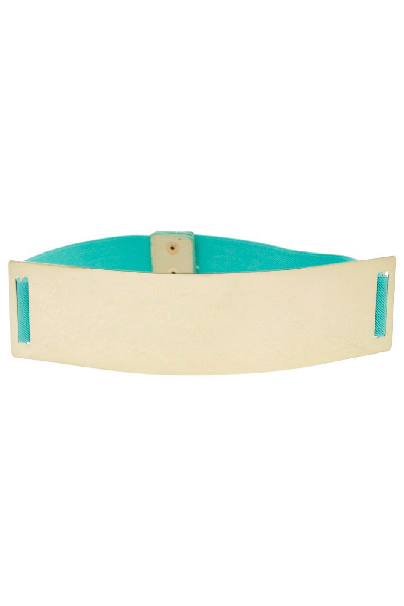 OVERSIZE GOLD PLATED BELT - Mint