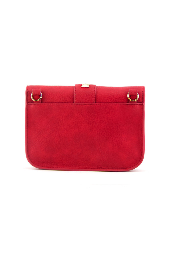 REBA STUDDED BAG - Red