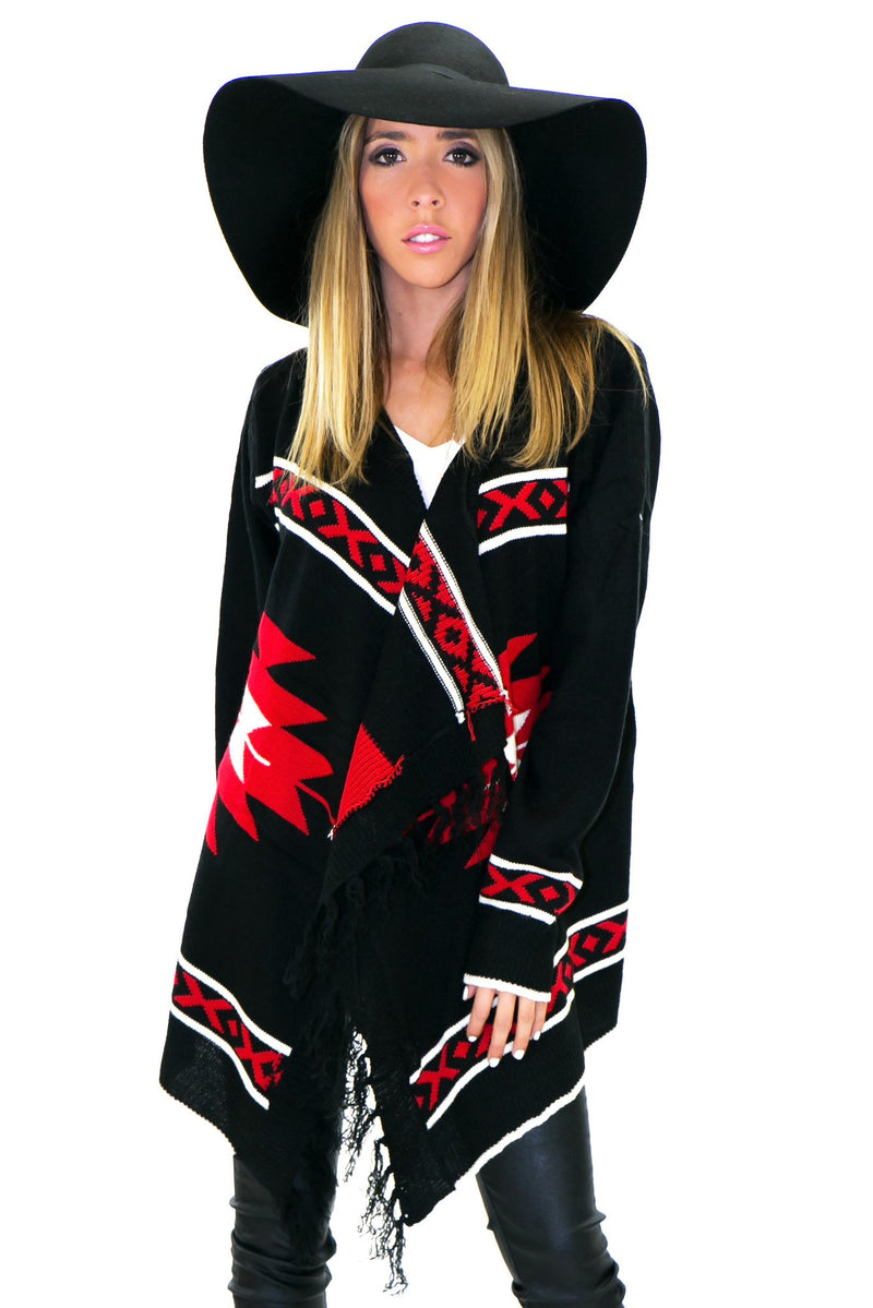 DYSON TRIBAL CARDIGAN SWEATER - Haute & Rebellious
