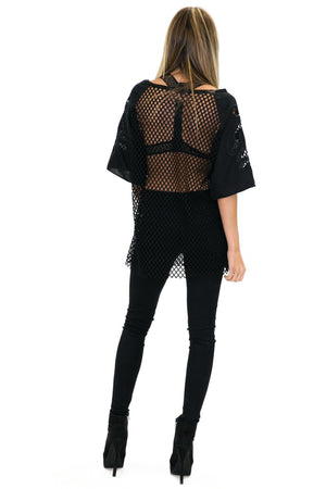 COMPTON NET WITH SWIRLS TOP - Haute & Rebellious
