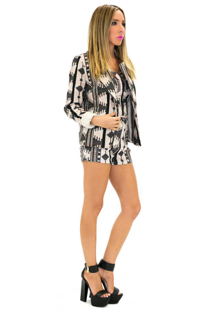 TRIBAL WOVEN JACKET - Haute & Rebellious